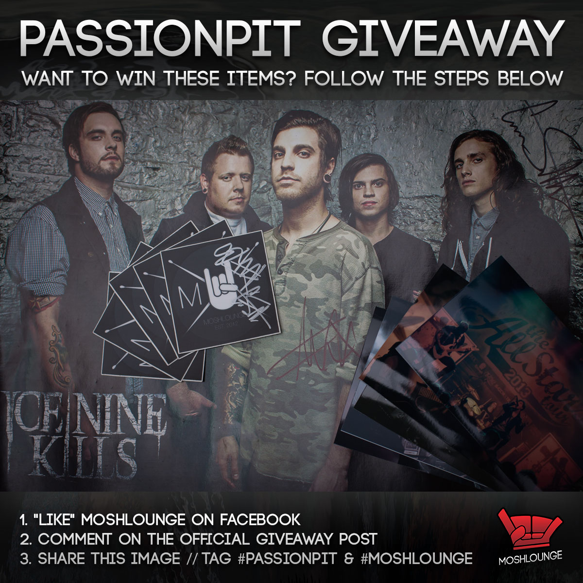 PassionPit Giveaway Facebook