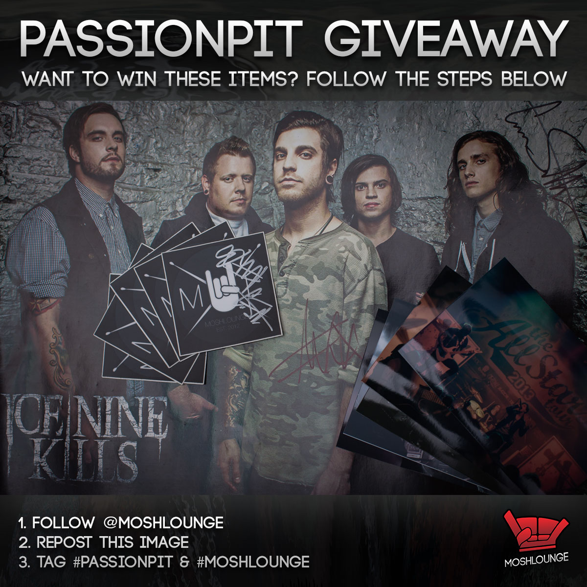 PassionPit Giveaway Instagram