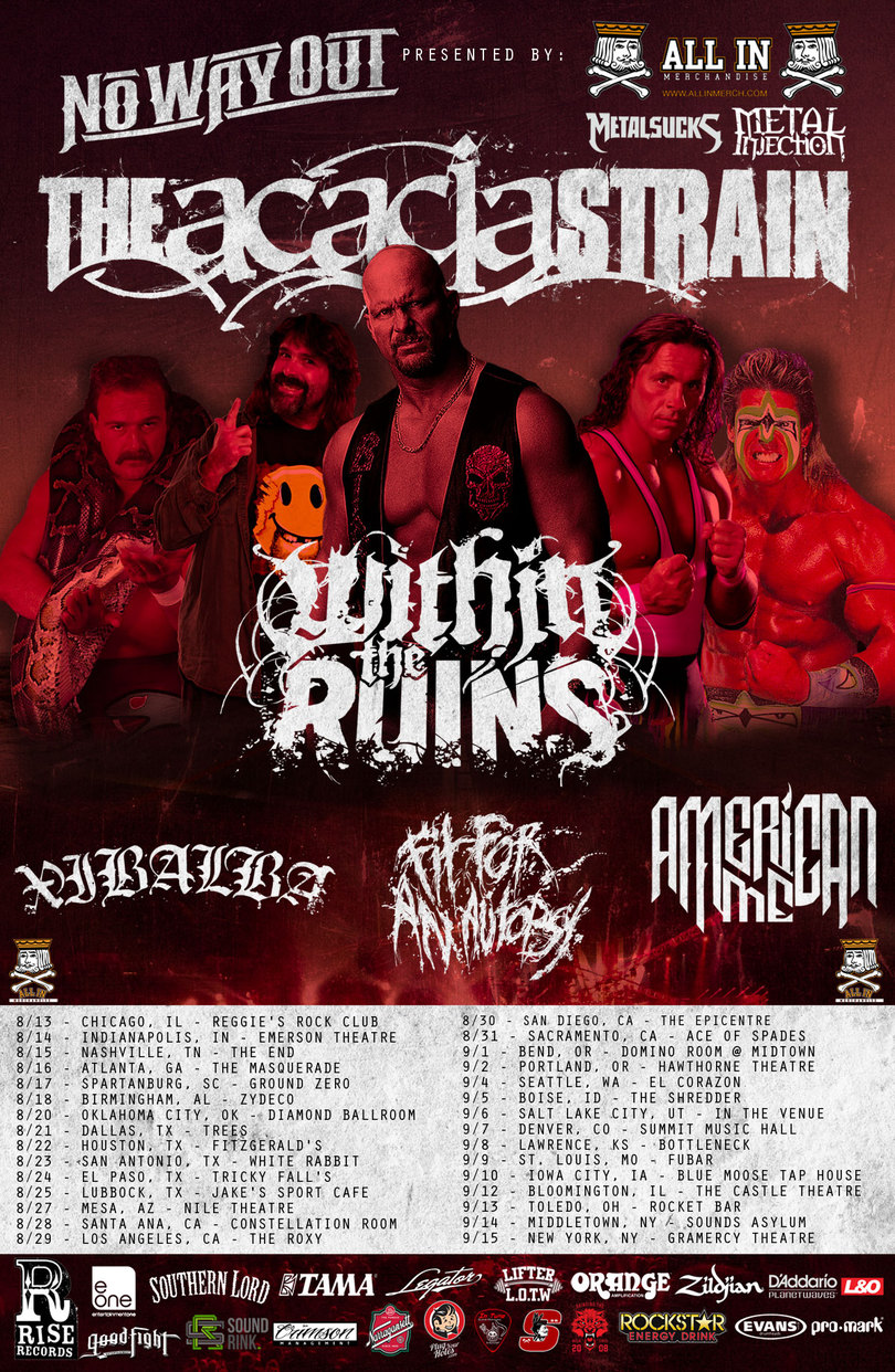 The Acacia Strain Fall 2013 Tour