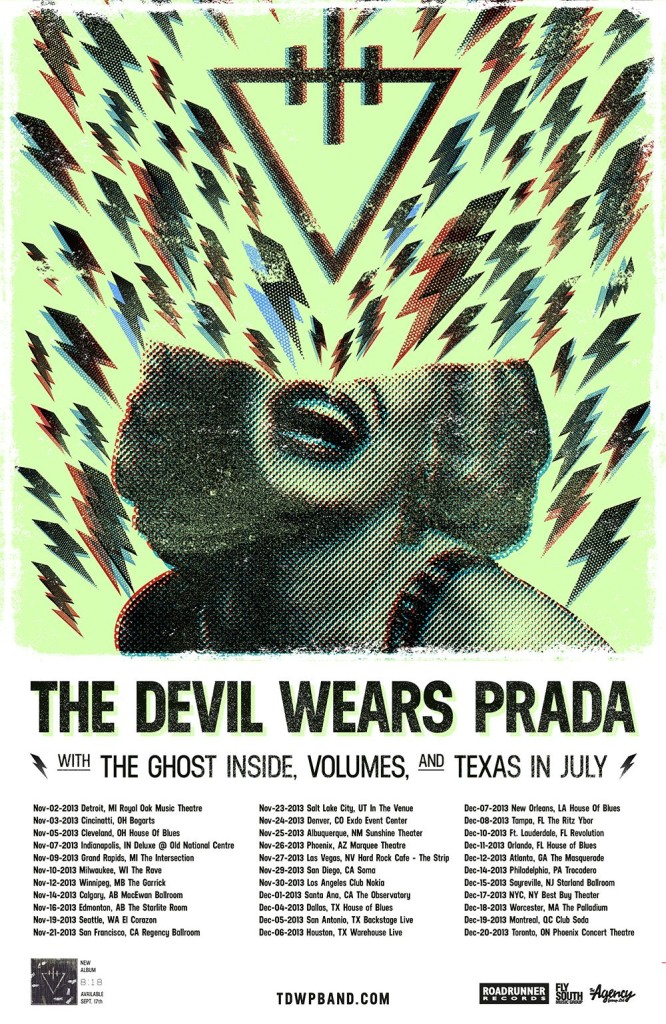 The Devil Wears Prada 8:18 Tour