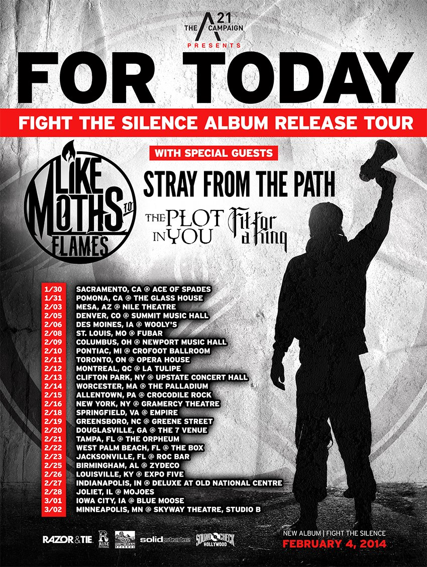 for-today-fight-the-silence-tour