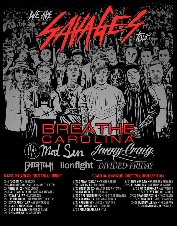 We Are Savages Tour Lineup